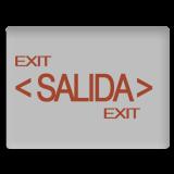LAMPARA DE SALIDA A BATERIA
