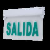 LETRERO DE SALIDA EN ACRÍLICO