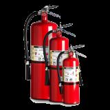 Extintores de Polvo Químico Seco (PQS)
